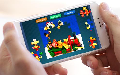 Jigsaw Winnie Puzzle Toys - náhled