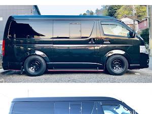 ハイエース  スーパーGL改 2WD 8ナンバー仕様のカスタム事例画像 ひで爺さんの2021年04月10日19:08の投稿