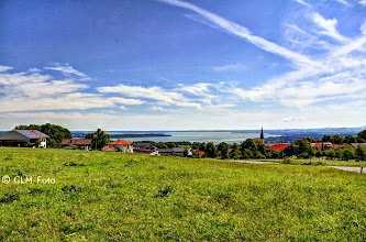 Photo: Chiemseeblick vom Aussichtspunkt Hittenkirchen