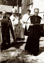 Photo: konsekracja kościoła 1965 r.