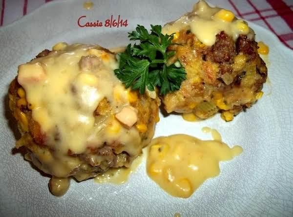 Saucy Sausage Corny Balls - Cassies Recipe