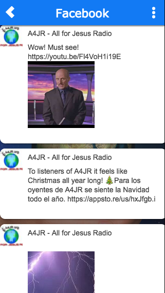 A4JR - All for Jesus Radio- screenshot
