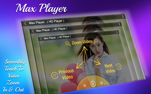 MAX Video Player 2018 - HD Video Player 2018 3.0 screenshots 4
