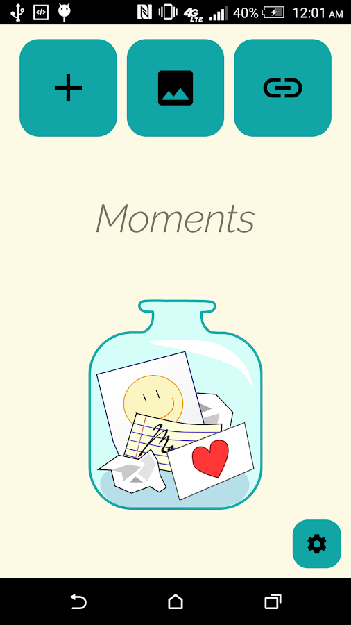 Moments- screenshot