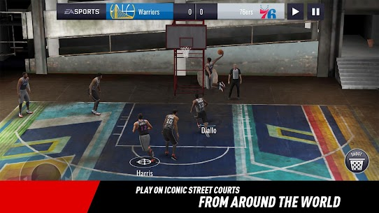 NBA LIVE Mobile Basketball MOD Apk (Unlimited Money) 4