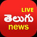 Telugu News Live TV   FM Radio icon