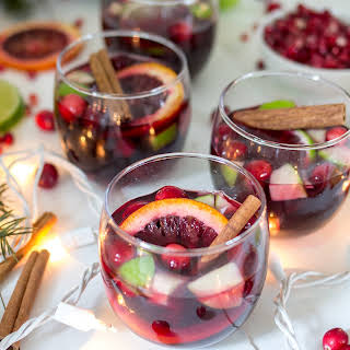 Spiced Holiday Sangria.