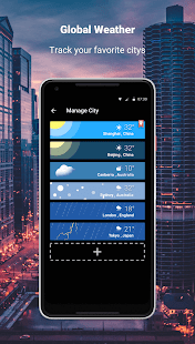 Weather Lite - Live Forecast & Alert Channel Screenshot