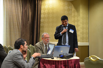 Photo: Technology Committee? Sandy Dall'erba, Doug Woodward, and Arun Adhikari (LSU)