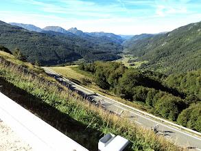 Photo: Dejando atrás el valle