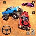 Monster Truck Car Crash Demolition Derby Games icon