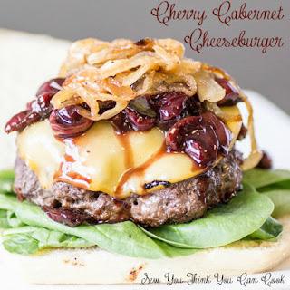 Cherry Cabernet Cheeseburgers