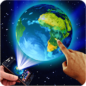 Earth in Space 3D Theme