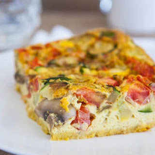 Spicy Egg Bake.