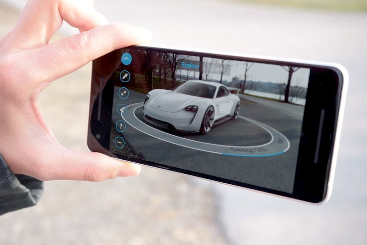 Augment a 3D Porsche in your garage with AR technology