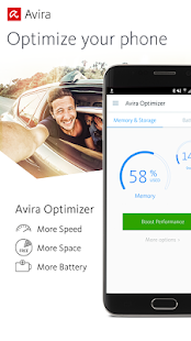 Avira Optimizer for Android Screenshot