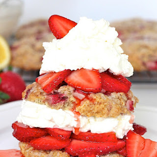 Double Strawberry Shortcakes