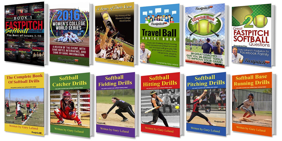 Fastpitch Softball Paperback Books