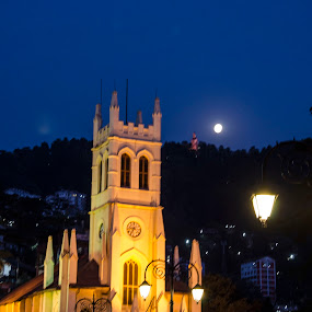 SHIMLA CHURCH  by Debasish Chatterjee - Buildings & Architecture Statues & Monuments