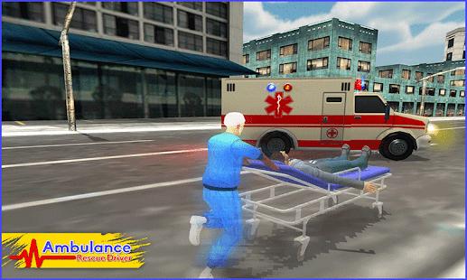 Sanitka Rescue Driver 2017 3D - náhled