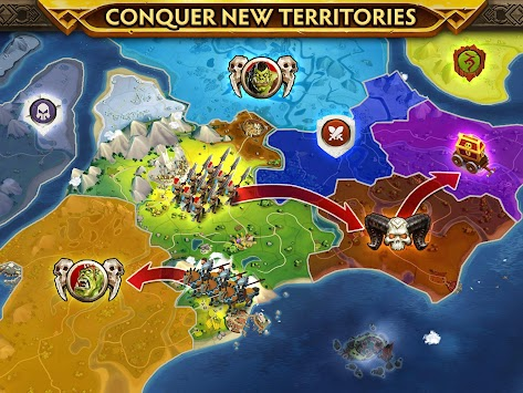 Warlords of Aternum apk screenshot