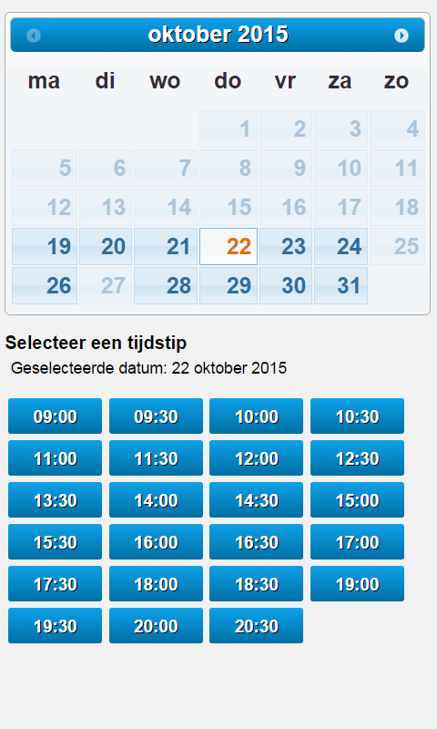 Medisch Pedicure Amstelveen- screenshot