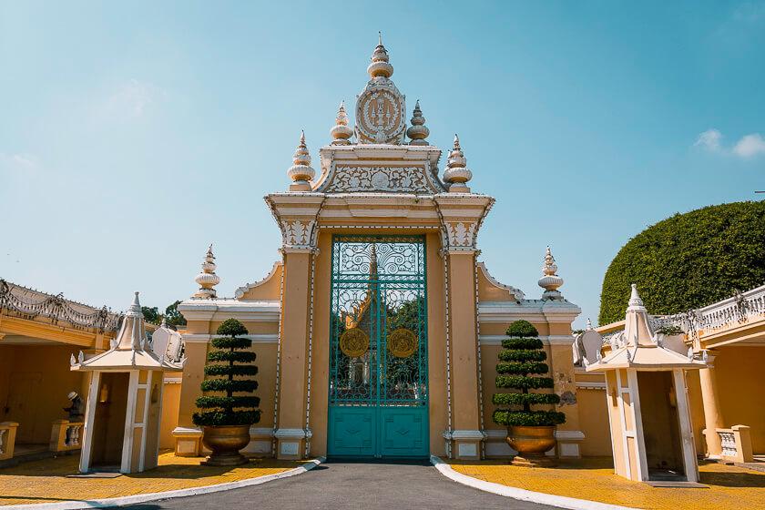 Royal Palace Gate.