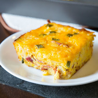 Double Cheese Overnight Hashbrown Casserole.