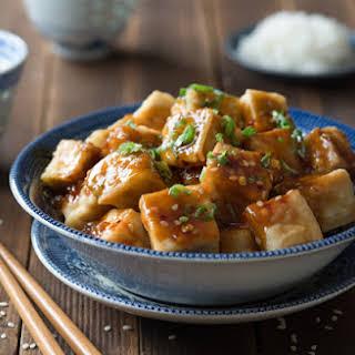 Sesame Tofu.