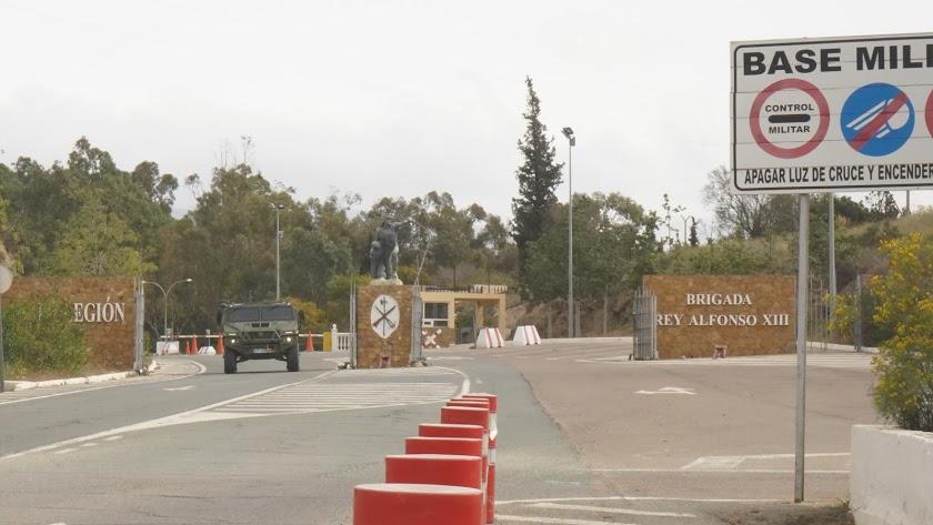 Base \'Álvarez de Sotomayor\' de Viator (Almería).