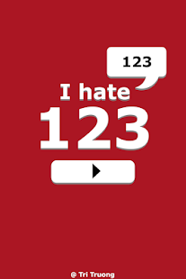 I Hate 123- screenshot thumbnail