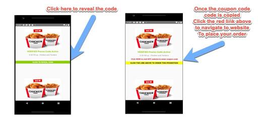 KFC Fried Chicken Restaurants Coupons Deals screenshot 3