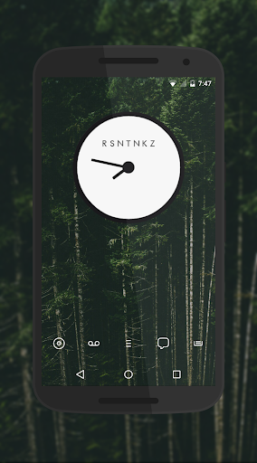 RZNZPR Zooper Clocks apk screenshot 6