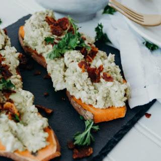 Avocado Egg Salad Sweet Potato Toast Recipe