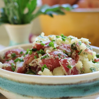 French Potato Salad with Mustard and Fresh Herbs