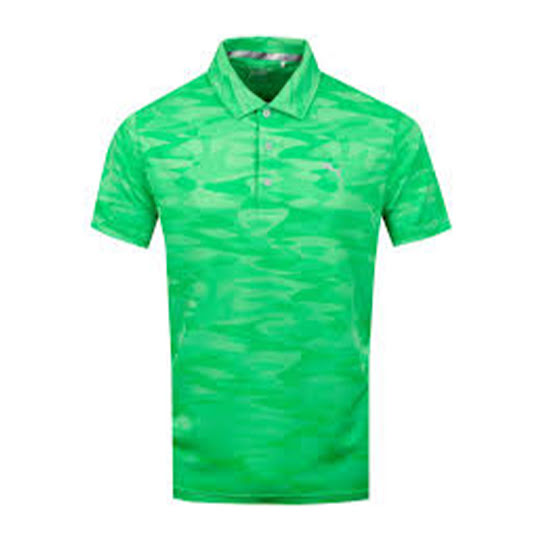 Puma Mens Alterknit Radius Polo, Irish Green