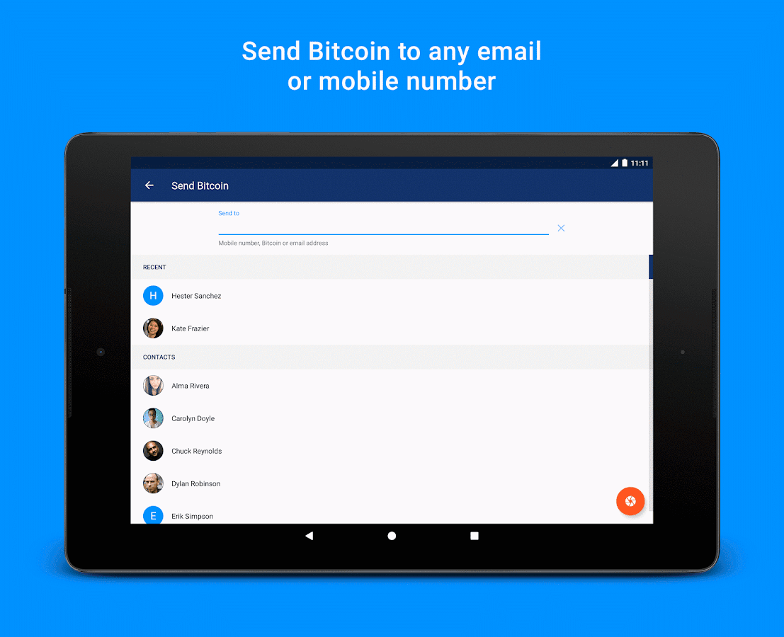 Luno Bitcoin Wallet- screenshot
