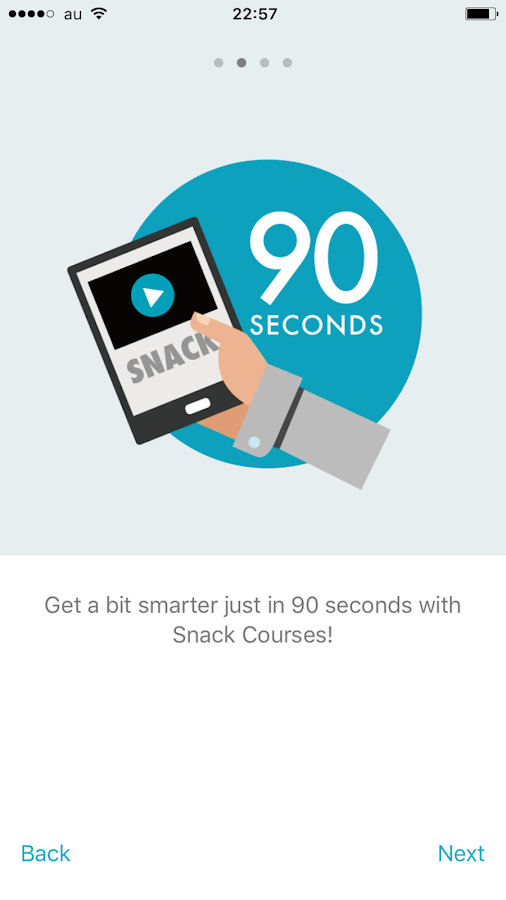 ShareWis - Snack & Pro Courses- screenshot