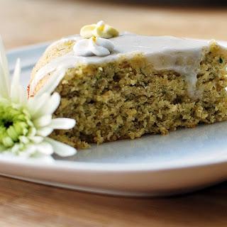 Calm Down London- Gluten Free Camomile & Courgette Cake.