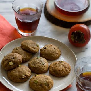 Persimmon Pistachio Cookies