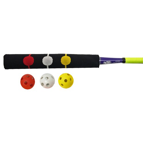 Bunt Sock with Three Wiffle Balls