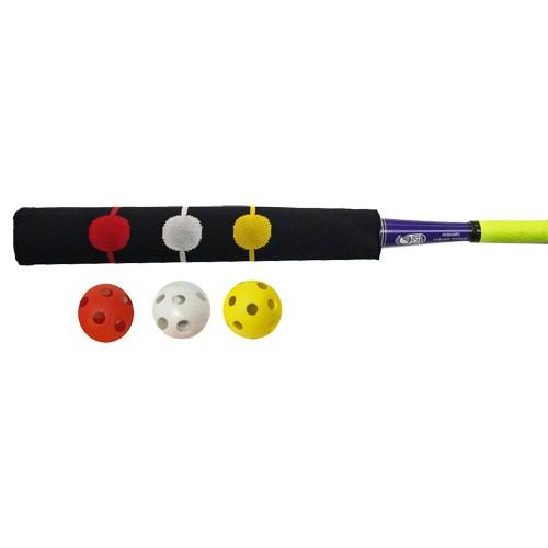 Bunt Sock with Three Wiffle Balls
