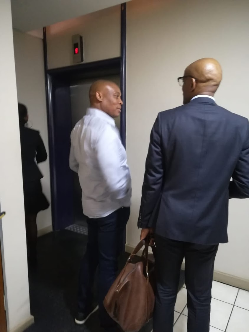 Rapulana Seiphemo at the Johannesburg Commercial Crimes Court.