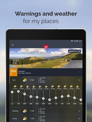 Weather Alarm: Forecast & alerts for Switzerland 5.18.2.9 screenshots 9