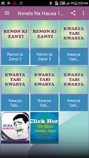 Novels Na Hausa 1 Free - náhled