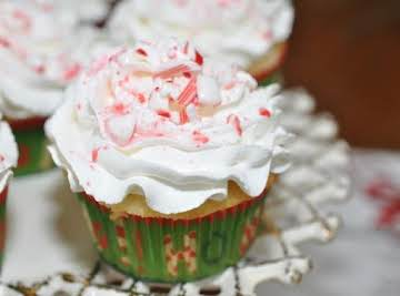 Peppermint Stick Cupcakes