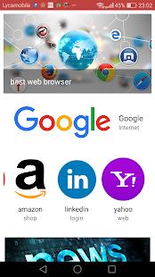 force browser - náhled