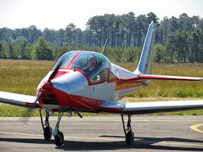 Photo: Bernard et son Skyleader 150
