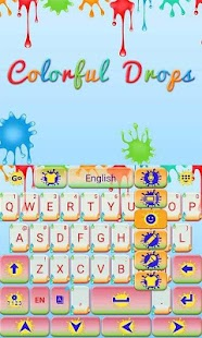 Colorful-Drops-Keyboard-Theme 4