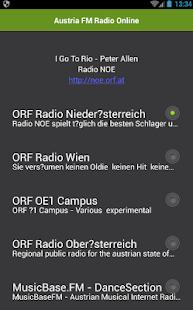 Austria FM Radio Online - náhled